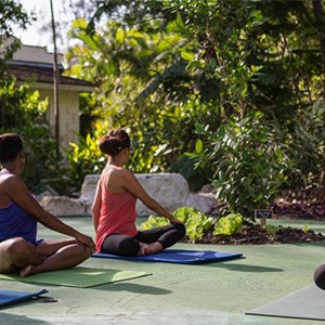Colony Club - Barbados Honeymoon - Honeymoon Dream - yoga