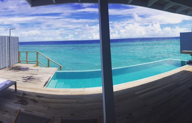 Sam and Michelle Takeaway wedding - the Honeymoon - Luxury Maldives Honeymoons