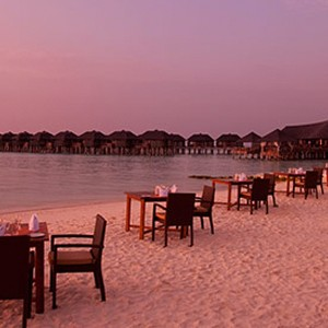 Islanders Grill - The sun Sivam Iru Fushi - Luxury Maldives Honeymoons