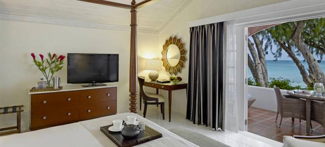 Colony Club Barbados Luxury Ocean View Room