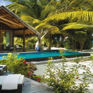 Maldives Honeymoon Packages Shangri La's Villingili Resort And Spa Beach Villa Private Pool And Beach