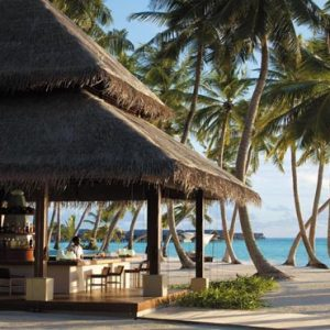 Maldives Honeymoon Packages Shangri La's Villingili Resort And Spa Endheri Pool Bar