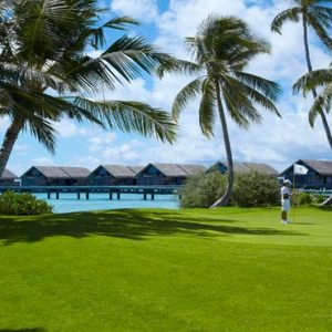 Maldives Honeymoon Packages Shangri La's Villingili Resort And Spa Golf In The Maldives