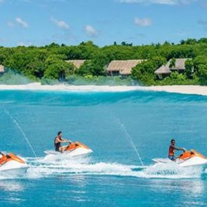 Maldives Honeymoon Packages Shangri La's Villingili Resort And Spa Jet Ski