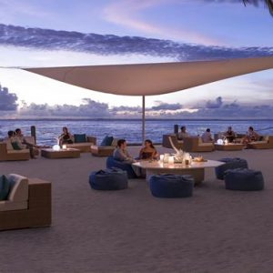 Maldives Honeymoon Packages Shangri La's Villingili Resort And Spa M Lounge Sunset