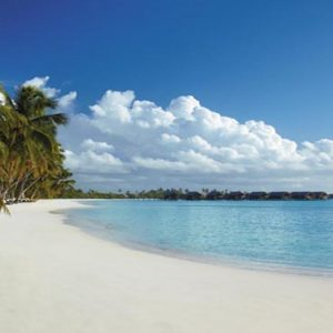 Maldives Honeymoon Packages Shangri La's Villingili Resort And Spa The Resorts Beach