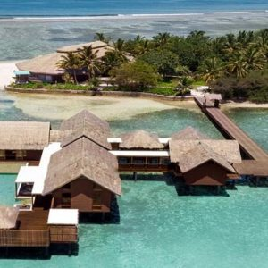 Maldives Honeymoon Packages Shangri La's Villingili Resort And Spa Villa Muthee Aerial View