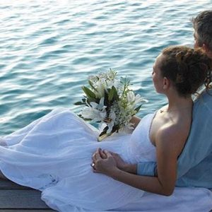 Maldives Honeymoon Packages Shangri La's Villingili Resort And Spa Wedding