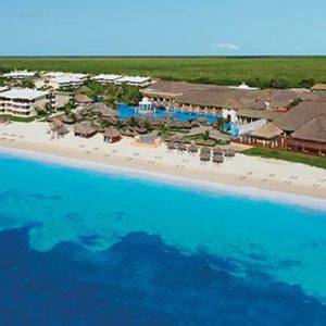 Mexico Honeymoon Packages Now Sapphire Riviera Cancun Aerial View