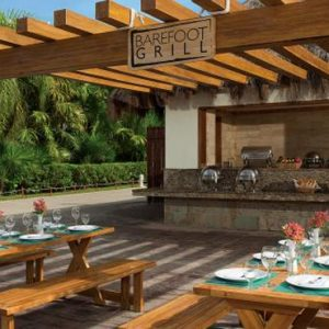 Mexico Honeymoon Packages Now Sapphire Riviera Cancun Barefoot Grill