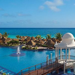 Mexico Honeymoon Packages Now Sapphire Riviera Cancun Main Pool