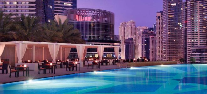 The address dubai marina honeymoon dreams honeymoon dreams The address dubai marina swimming pool