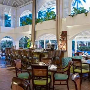 Restaurant - Colony Club Barbados - Luxury Barbados Honeymoons