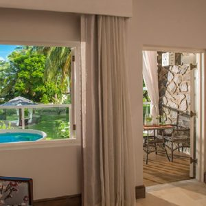 St Lucia Honeymoon Packages Sandals Halcyon Beach Oceanview Club Level Room W Balcony Tranquility Soaking Tub2