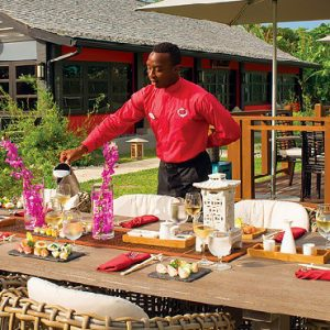St Lucia Honeymoon Packages Sandals Halcyon Beach Soy Sushi Bar1