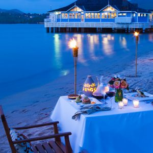 St Lucia Honeymoon Packages St Lucia Weddings Dining