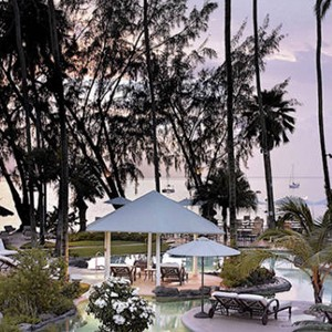 Sunset - Colony Club Barbados - Luxury Barbados Honeymoons