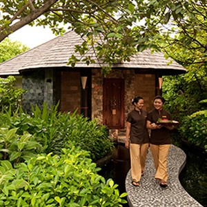 The Spa Cafe - The sun Sivam Iru Fushi - Luxury Maldives Honeymoons