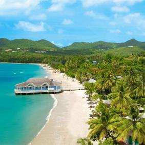 Thumbnail - Sandals Halcyon Beach - Luxury St Lucia Honeymoons