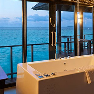 Water Villa 2- The sun Sivam Iru Fushi - Luxury Maldives Honeymoons