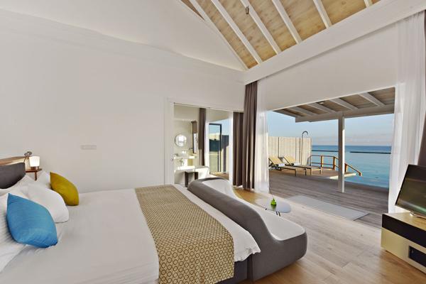 Watervilla 2 - Sam and Michelle Takeaway wedding - the Honeymoon - Luxury Maldives Honeymoons