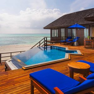 Luxury Maldives Holiday Packages Olhuveli Beach And Spa Resort Maldives Prestige Jacuzzi Water Villa 4
