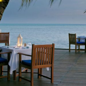 Luxury Maldives Holiday Packages Olhuveli Beach And Spa Resort Maldives Dining 2
