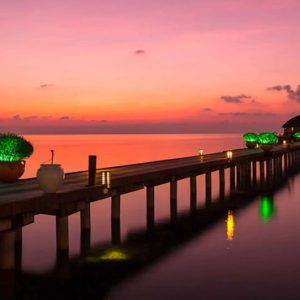 Luxury Maldives Holiday Packages Olhuveli Beach And Spa Resort Maldives Jetty
