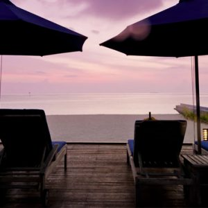 Luxury Maldives Holiday Packages Olhuveli Beach And Spa Resort Maldives Sunset