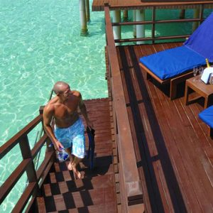 Luxury Maldives Holiday Packages Olhuveli Beach And Spa Resort Maldives Terrace
