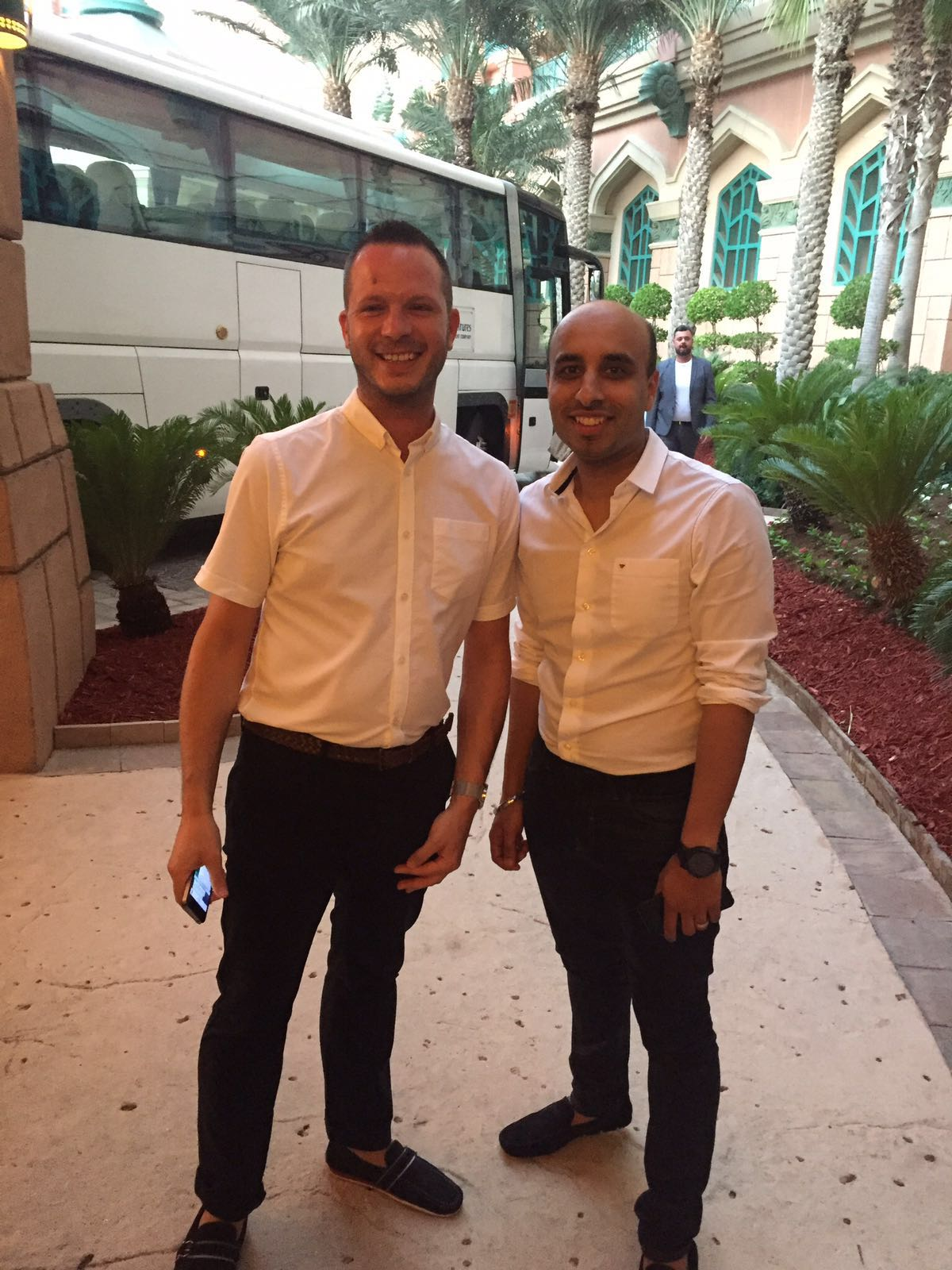 Lakh Hayer and Neil - The Global Conference Dubai 2016
