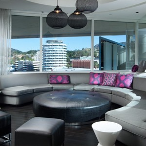 w hotel hollywood - las angles - honeymoon dreams - extreme wow suite