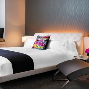 w hotel hollywood - las angles - honeymoon dreams - fabulas room