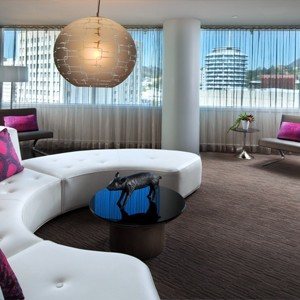 w hotel hollywood - las angles - honeymoon dreams - fantastic suite