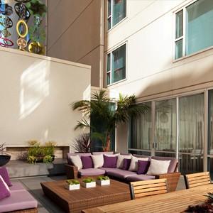w hotel hollywood - las angles - honeymoon dreams - garden wow suite