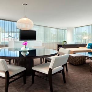w hotel hollywood - las angles - honeymoon dreams - mega suite
