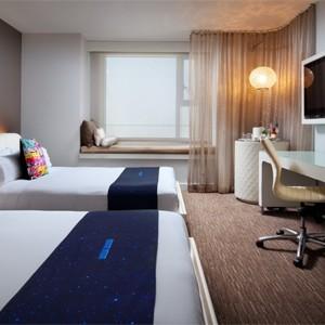 w hotel hollywood - las angles - honeymoon dreams - wonderful room