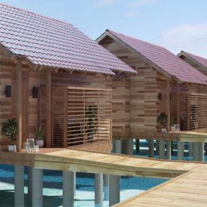 Bodhanfulhu Pool Water Villa 2 Dhigufaru Island Resort Maldives Honeymoons