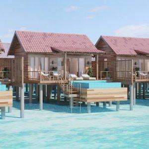 Bodhanfulhu Pool Water Villa Dhigufaru Island Resort Maldives Honeymoons