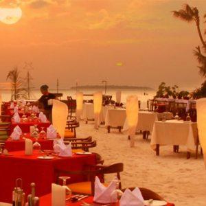 Dhandifulhu Restaurant Dhigufaru Island Resort Maldives Honeymoons