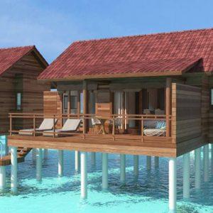 Findhanfulhu Water Villa Dhigufaru Island Resort Maldives Honeymoons