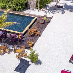 Pool Dhigufaru Island Resort Maldives Honeymoons