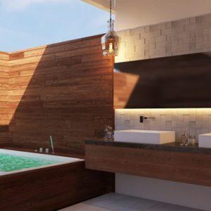 Presidential Suite 2 Dhigufaru Island Resort Maldives Honeymoons