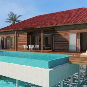 Presidential Suite Dhigufaru Island Resort Maldives Honeymoons