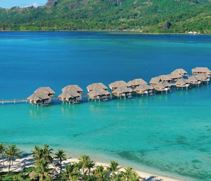 a picture of Bora Bora