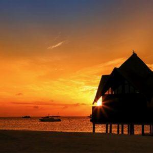 Sunset 3 Dhigufaru Island Resort Maldives Honeymoons