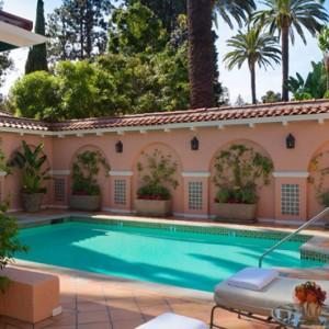 4Bungalow 5 - beverly hills hotel - luxury los angeles honeymoon packages