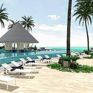 Beach Club - Luxury Maldives Honeymoons - Kandima Island Resort
