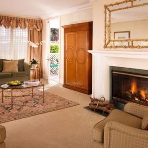 Bungalow Suite 2 - beverly hills hotel - luxury los angeles honeymoon packages