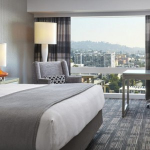 Capitol View - Loews Hollywood Hotel - luxury los angeles honeymoon packages